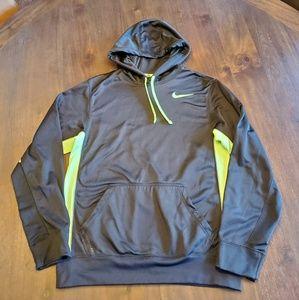 Nike men's Therma Fit hooded sweatshirt size S